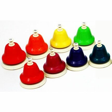 Chroma-Notes CNDBD 8-Note Diatonic Desk Bell Set