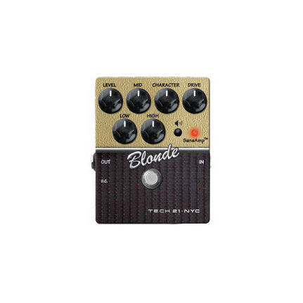 TECH 21 Character Blonde V2 Effects Pedal