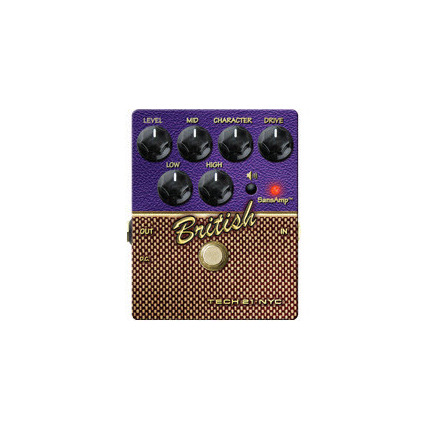 TECH 21 Character British Pedal V2 Effects Pedal