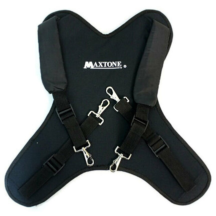 Maxtone DCC05B Padded Marching Bass Drum Carrier Harness
