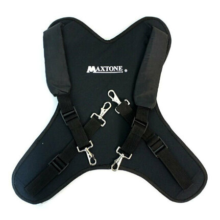 Maxtone DCC05S Padded Marching Snare Drum Carrier Harness