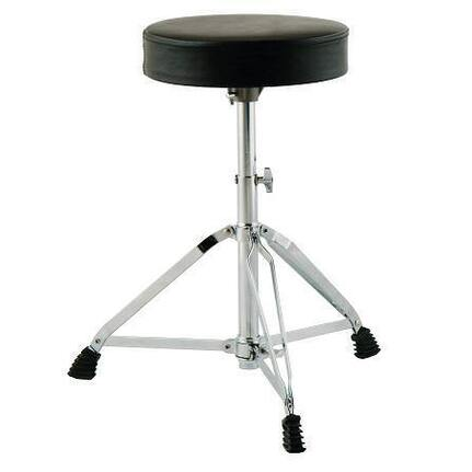 Drumfire Dfmdt2 Budget Double Braced Adjustable Drum Stool Throne