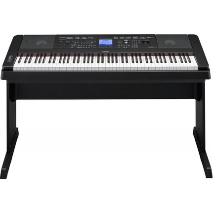 Yamaha DGX660B Black Digital Piano With 88-Key Weighted Action Including Stand