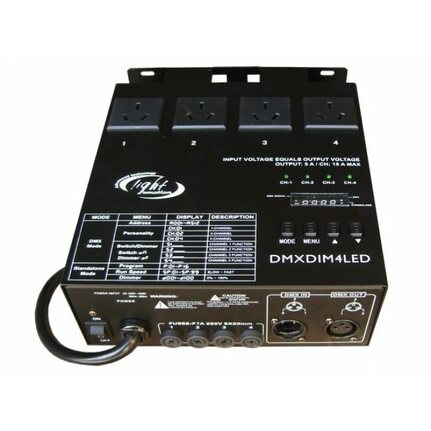 Light Emotion DMX Dimming Pack 4 Channel
