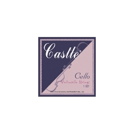 Castle Cello String Set 1/2 Size