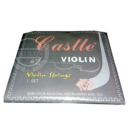 Castle Violin String Set 3/4 Size