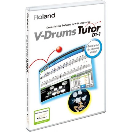 Roland Dt-1 V-Drums Tutor Dvd (Great Learning Aid) Dt1