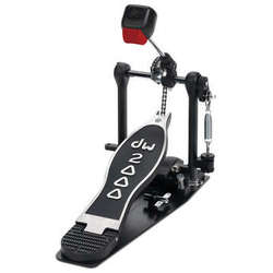 DW 2000 Single Kick Drum Pedal Chain With Steel Base Plate