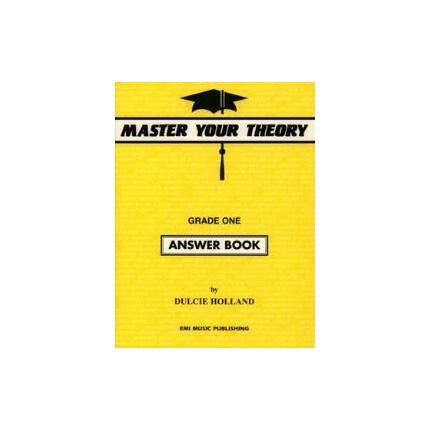 MASTER YOUR THEORY ANSWER BK 1 By Dulcie Holland