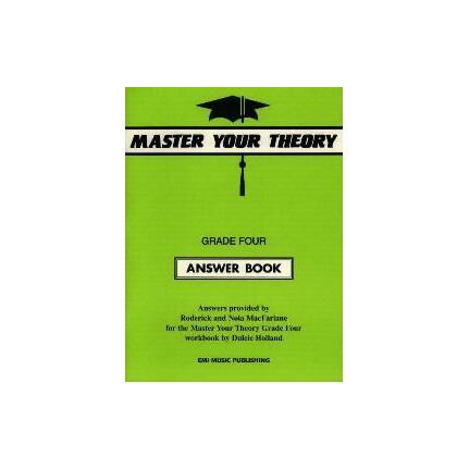 MASTER YOUR THEORY ANSWER BK 4 By MacFarlane R & N