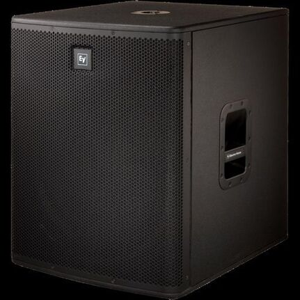 Ev Elx118P Powered 18-Inch Subwoofer 700 Watt D Class Amp Plywood Enclosure