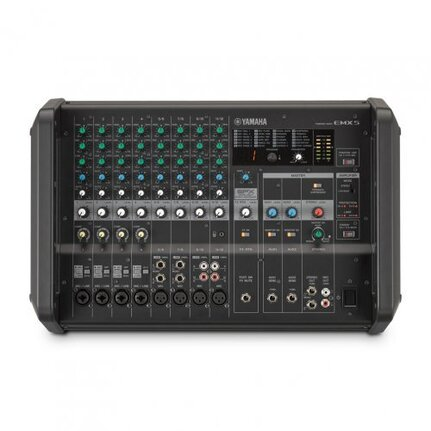 Yamaha EMX5 Powered Mixer Dual 630-Watt Amps With 8-Channels