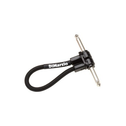DiMarzio EP706B Jumper 6-Inch Right Angle Guitar Patch Cable