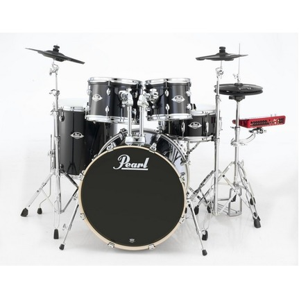 "Pearl ePro Powered by Export 22"" Fusion Plus Electronic Drum Kit Jet Black"