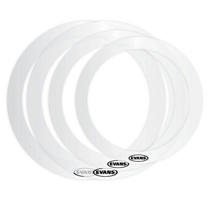 "Evans ER-FUSION E-Ring Pack, Fusion Package includes 10"", 12"", and 14"" (2)"