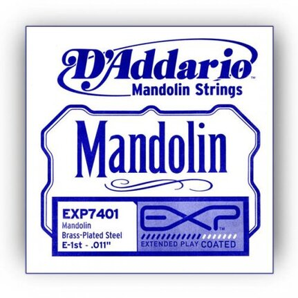D'Addario EXP7401 EXP Mandolin Single String, First String, .011
