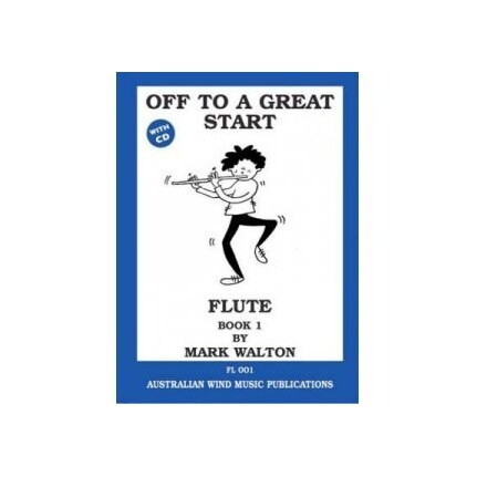 Off To A Great Start Flute Bk1 Bk/Cd