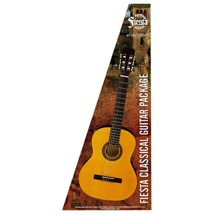 Aria FPK200N Fiesta Classical Nylon-String Guitar Pack Natural