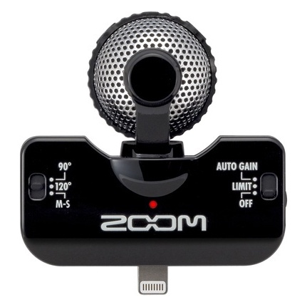 Zoom Iq5 Ms Microphone Black