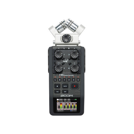 Zoom H6 6-Track Handy Recorder