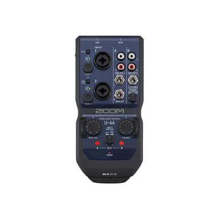Zoom U-44 Digital Recorder With Handy Audio Interface