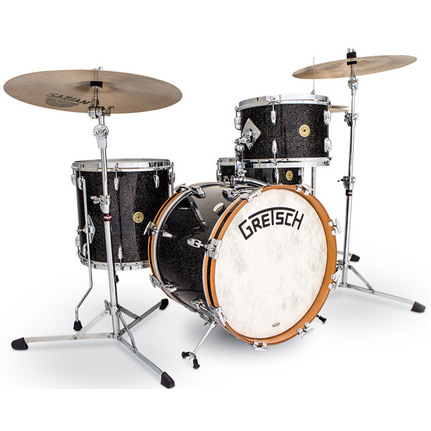 Gretsch Broadkaster Vintage In Anniversary Sparkle Nitron   18'' Bop Kit 4 Pce - No H/Ware