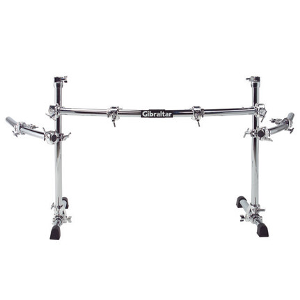 Gibraltar Gcs400C Road Series Chrome Curved Rack System