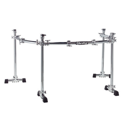 Gibraltar Gcs450C Road Series Chrome Curved Rack System