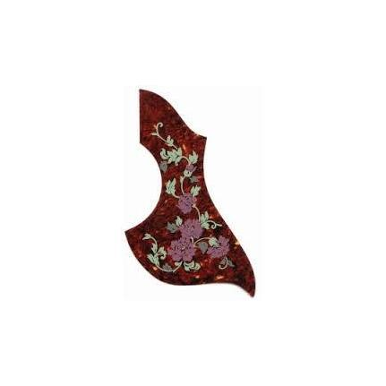 AMS GP682 Acoustic Scratchplate Floral Tortoiseshell
