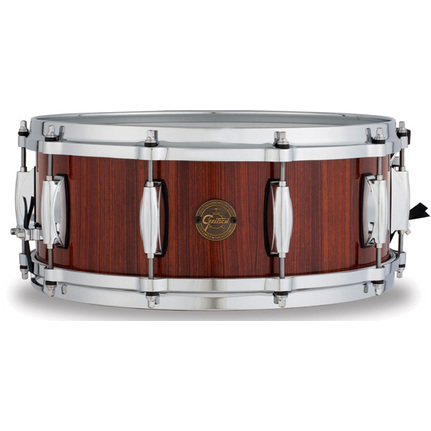 "Gretsch Gold Series Snare Drum 14 X 5.5"" Natural Rosewood Finish"