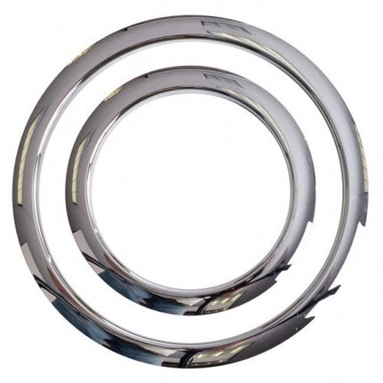 "Gibraltar Gscgphp4C Port Hole Protector 4"" Chrome Finish - Pk 1"