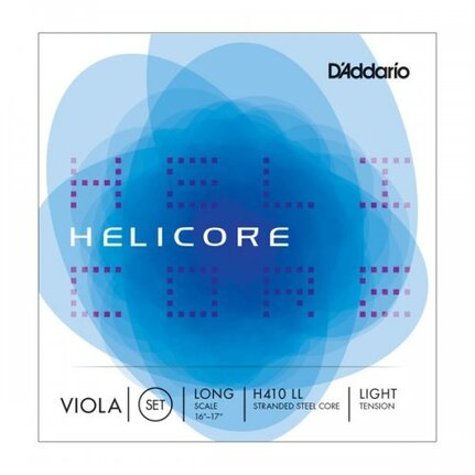 D'Addario Helicore Viola String Set, Long Scale, Light Tension