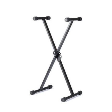 Hamilton Kbm3K Mini X Style Keyboard Stand Black Steel
