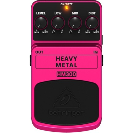Behringer Hm300 Heavy Metal Effects Pedal