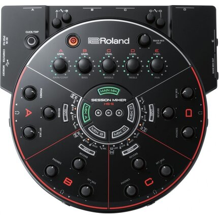 Roland HS-5 Session Mixer Rehearsal and Recording Mixer for Ensembles