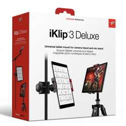 iKlip 3 Deluxe Mic Stand & Camera Tripod Mounts For iPad & Tablet