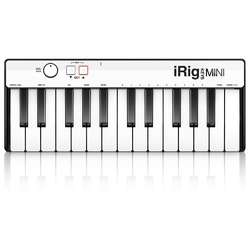 iRig Keys Mini 25-Key MIDI Keyboard Controller for iOS Devices/Android/PC
