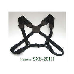 J.Michael JMSXS201H Padded Harness Type Saxophone Strap In Black
