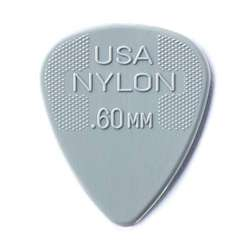 Dunlop Standard Nylon .60mm Grey Guitar Picks 12-Pack