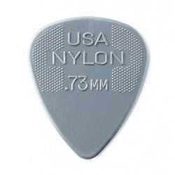 Dunlop Standard Nylon .73mm Grey Guitar Picks 12-Pack