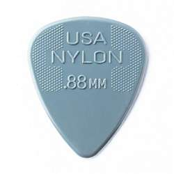 Dunlop Standard Nylon .88mm Grey Guitar Picks 12-Pack