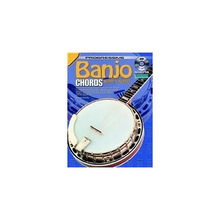 Progressive Banjo Chords Bk/Cd/Dvd 69379
