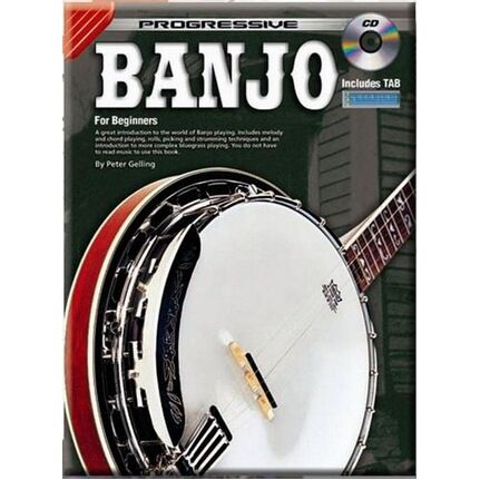 Progressive Banjo Bk/Cd 69260