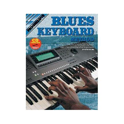 Progressive Blues Keyboard Method Bk/Cd 69061