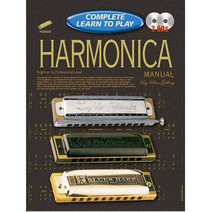 Progressive Complete Learn To Play Harmonica