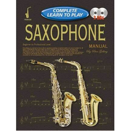Progressive Complete Learn To Play Saxophone