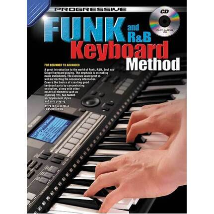 Progressive Funk And R&B Keyboard Method