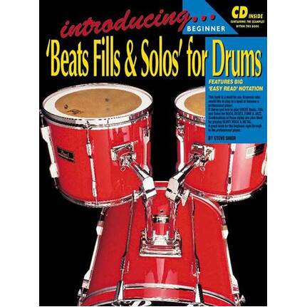 Introducing Beats, Fills & Solos For Drums
