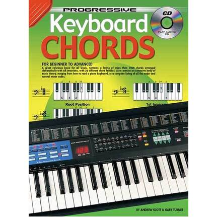 Progressive Keyboard Chords