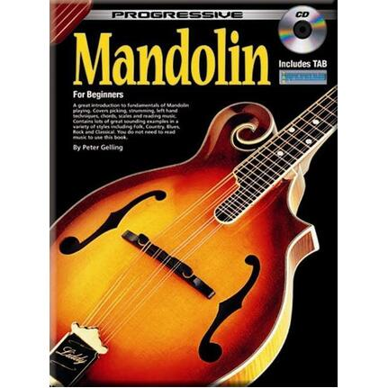 Progressive Mandolin Bk/Cd 69261